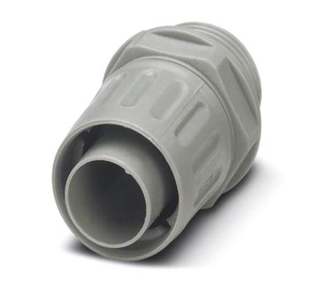 Phoenix Contact - 3241013 - Phoenix Contact IP54 灰色 PP 电缆固定头 3241013 至 21mm电缆直径, -10°C至+110°C, M25螺纹