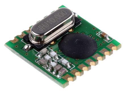 RF Solutions - ALPHA-TX868S - RF Solutions 遥测模块 ALPHA-TX868S, 868 MHz频带, 调频调制技术, 3 → 12V