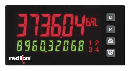 Red Lion - PAX2S000 - Red Lion PAX2S 系列 LED 数字面板式多功能表 PAX2S000