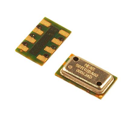 TE Connectivity - MS561101BA03-00 - TE Connectivity MS561101BA03-00 1200mbar 气压传感器, 0 → 3.6 V输出, 8引脚 QFN封装