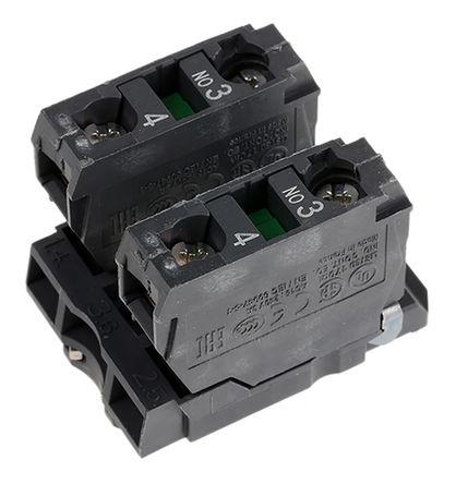 Schneider Electric - ZB5AZ103 - Schneider Electric XB5 系列 接触块 ZB5AZ103, 2 常开, 螺钉接端