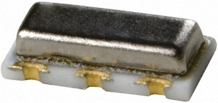 Murata - CSTCR4M00G15L99-R0 - Murata CSTCR4M00G15L99-R0 4MHz 陶瓷谐振器, 剪切模式, 39pF负载, 3引脚 保护罩芯片封装, 4.5 x 2 x 1.2mm