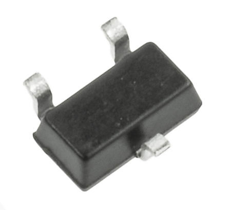 ROHM - 2SD2226KT146W - ROHM 2SD2226KT146W , NPN 双极晶体管, 150 mA, Vce=50 V, HFE:820, 100 MHz, 3引脚 SC-59封装