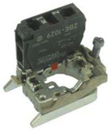 Schneider Electric - ZB4BZ1029 - Schneider Electric XB4 系列 接触块 ZB4BZ1029, 1 常闭, 螺钉接端