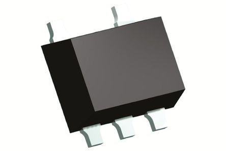 Panasonic - DMA5610H0R - Panasonic DMA5610H0R 双 PNP 数字晶体管, -100 mA, Vce=-50 V, 2.2 kΩ, 电阻比:0.22, 5引脚 SMini5 F3 B封装