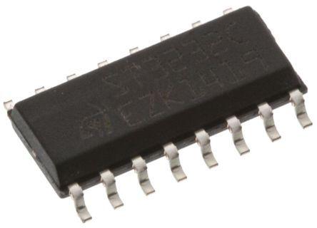 STMicroelectronics - VIPER38HD - STMicroelectronics VIPER38HD 高电压转换开关, 8.5 → 23.5 V输入, 16引脚 SOIC封装