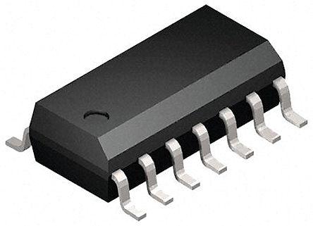 STMicroelectronics - M74HC126YRM13TR - M74HC126YRM13TR HC 四总线缓冲器, 160 ns@ 150 pF, 7.8mA, 2 → 6 V, 14引脚 SOIC封装