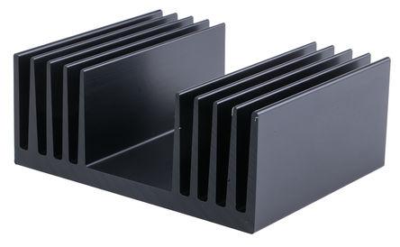 ABL Components - 350AB1000B - ABL Components 黑色 散热器 350AB1000B, 1°C/W, 100 x 125 x 50mm