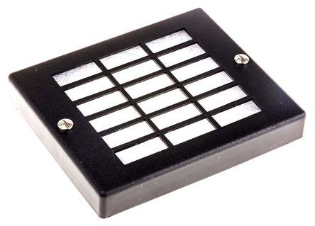 ebm-papst - PMFA80 - ebm-papst PC、合成纤维制 扇形过滤器 PMFA80, 17.5mm厚, 用于80mm风扇