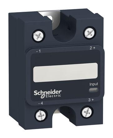 Schneider Electric - SSP1A110M7T - Schneider Electric 10 A 面板安装 单极常开 固态继电器 SSP1A110M7T, SCR输出, 零电压切换, 300 V 交流
