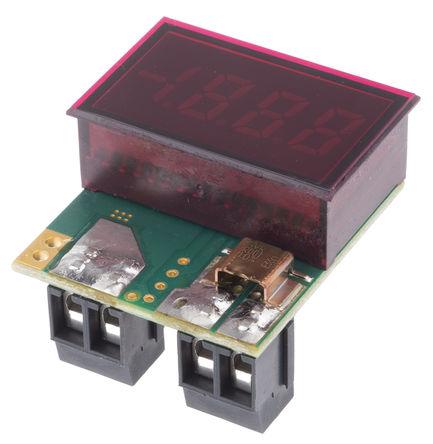 Murata Power Solutions - DCA-20PC-6-DC1-RL-C - Murata 3.5位 LED 数字电流表 DCA-20PC-6-DC1-RL-C, 直流电流, 33.93 x 21.29 mm, 0°C 至 +60°C