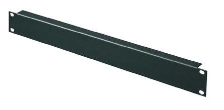 Rittal - 7151005 - Rittal 黑色 1U 钢制19 英寸空白面板 7151005, 44 x 482.6mm