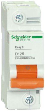 Schneider Electric - EA9AH1D80NEW - Schneider Electric Easy 9 EA9 系列 80A 1极 D型 微型断路器 EA9AH1D80NEW
