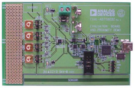 Analog Devices - EVAL-AD7156EBZ - Analog Devices 模拟开发套件 EVAL-AD7156EBZ