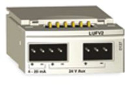 Schneider Electric - LUFV2 - Schneider Electric TeSys U-Line 系列 扩展模块 LUFV2, 24 V 直流, 4 → 20 mA