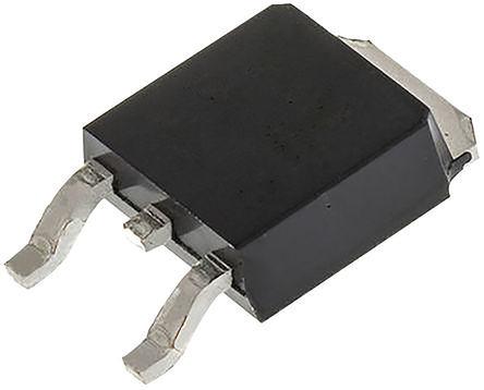 Toshiba - TK7P60W,RVQ(S - Toshiba N沟道 Si MOSFET TK7P60W,RVQ(S, 7 A, Vds=600 V, 3引脚 DPAK封装