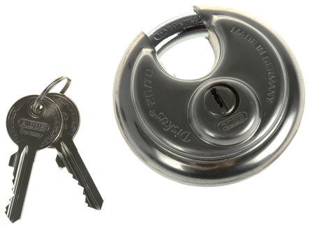 ABUS - XR0026 70 - Abus XR0026 70 灰色 �匙�I � 重型�戽i, 10mm �i�^