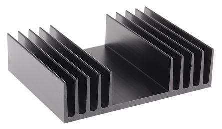 ABL Components - 333AB0750B - ABL Components 黑色 散�崞� 333AB0750B, 2K/W, 75 x 97 x 25mm