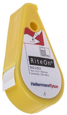 HellermannTyton - 550-14010 - HellermannTyton RiteOn 系列 150件装 电缆标记套件 550-14010, 6.1 → 12.1mm电缆直径