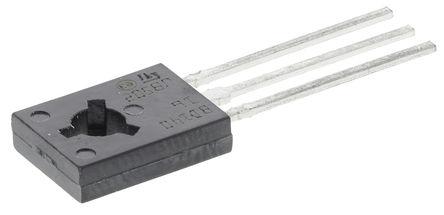 STMicroelectronics - BD140-16 - STMicroelectronics BD140-16 , PNP 晶体管, 1.5 A, Vce=80 V, HFE:100, 3引脚 SOT-32封装