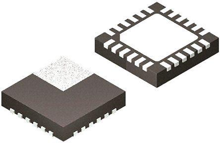 Panasonic - NN30321A-VB - Panasonic NN30321A-VB 直流 - 直流开关调节器, 降压, 4.5 → 28 V输入, 6A最大输出, 0.75 → 5.5 V输出, 650 kHz, 24引脚 HQFN封装
