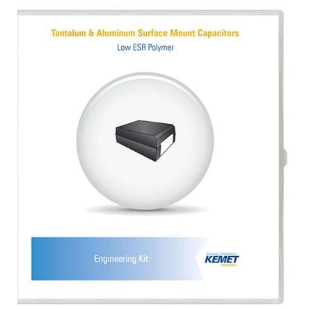 KEMET - TAN ENG KIT 23 - KEMET TAN ENG KIT 23 170件 SMD 电容器 电容器套件