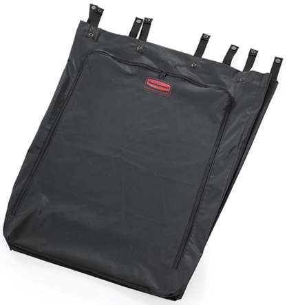 Rubbermaid Commercial Products - FG635000BLA - Rubbermaid Commercial Products 1件装 黑色 113.6L 聚酯,PVC 垃圾袋 FG635000BLA