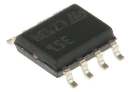 STMicroelectronics - LF351D - STMicroelectronics LF351D 运算放大器, 4MHz增益带宽积, 8引脚 SOIC封装