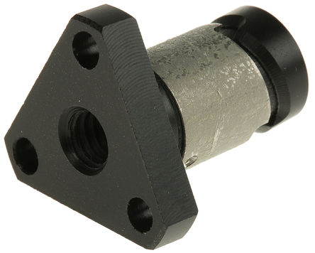 Thomson Linear - XCMF6x1M - Thomson Linear XCMF6x1M 法兰防松脱螺母, 1mm导向柱, 适合6mm轴直径, 0.5in外径, 0.9in总体长度
