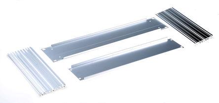 Schroff - 20860210 - Schroff Multipac Multipac 系列 天然色 铝/挤制铝 2U 底盘套件 20860210, 220mm深