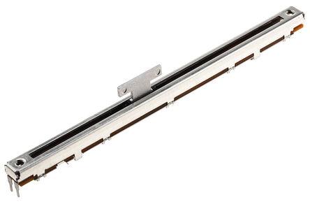 Alps - RSA0N11S9004 - Alps RSA0N 系列 10kΩ ±20% 对数 滑动电位计 RSA0N11S9004, 0.25W, 18.5 x 1.5 mm 直径轴, 通孔