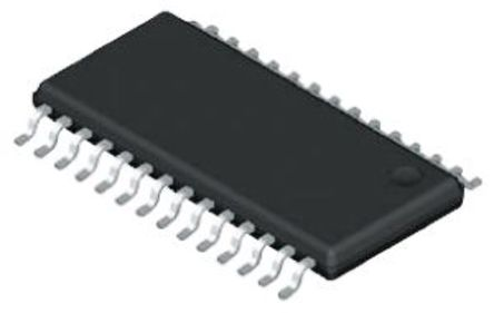 Analog Devices - ADM3311EARSZ - Analog Devices ADM3311EARSZ 460kbps 线路收发器, RS-232接口, 3-TX 5-RX, 3.3 V单电源, 28引脚 SSOP封装