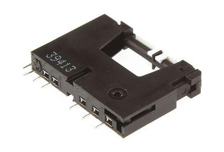 Panasonic - APF1-PS-GD - Panasonic 继电器插座 APF1-PS-GD, 适用于超薄电源继电器