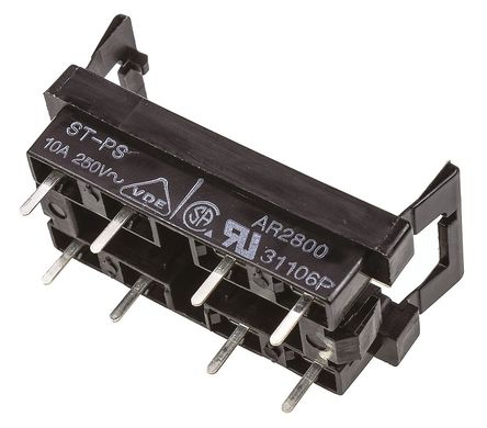 Panasonic - STPS - Panasonic 继电器插座 STPS, 适用于ST 系列
