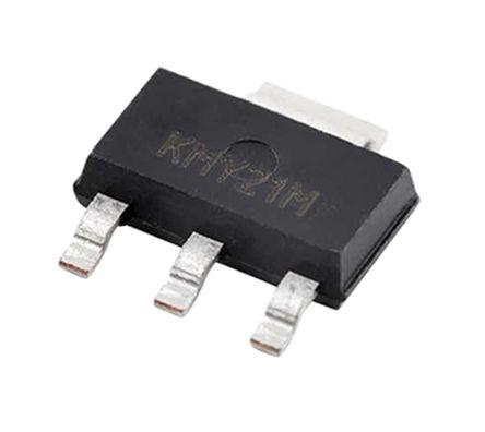 TE Connectivity - G-MRCO-001 - TE Connectivity G-MRCO-001 2轴 倾角仪, 最大10 V电源, 3 + Tab引脚 SOT-223封装