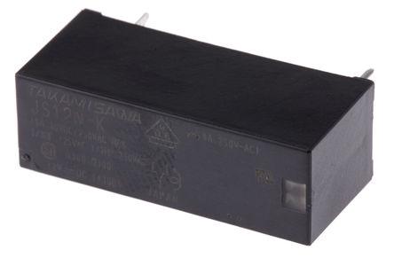 Fujitsu - JS-12N-K - Fujitsu JS-12N-K 单刀双掷 PCB 安装 非闭锁继电器, 12V
