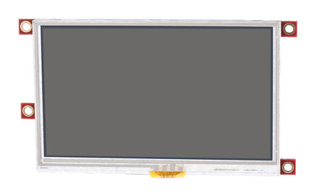 4D Systems - uLCD-43PT-PI - 4D Systems Picaso 系列 4.3in TFT 触摸屏 Raspberry Pi LCD 显示屏 uLCD-43PT-PI, 480 x 272pixels 分辨率, LED背光 串行 接口