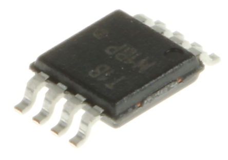 ON Semiconductor - ADT7461ARMZ-R7 - ON Semiconductor ADT7461ARMZ-R7 温度监控器, ±1 °C, ±3 °C精确度, SMBus接口, 3 → 5.5 V电源, 最高 +150°C工作温度, 8引脚 MSOP封装