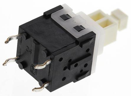 Panasonic - ESB32101N - Panasonic 杠杆 触觉开关 ESB32101N, 双刀单掷-常开, 3 A @ 12 V 直流 通孔