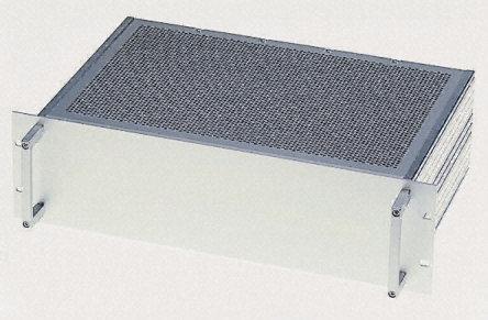 Schroff - 20860203 - Schroff Multipac Multipac 系列 天然色 铝/挤制铝 1U 机架式机箱 20860203, 340mm深