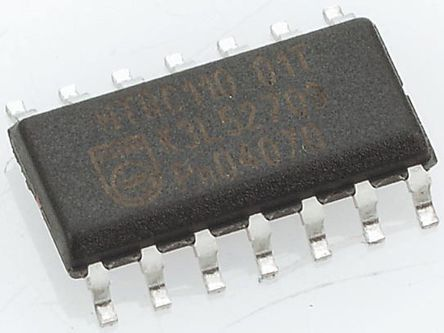 STMicroelectronics - TL084CD - STMicroelectronics TL084CD 四路 运算放大器, 4MHz增益带宽积, 14引脚 SOIC封装