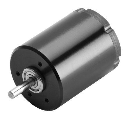 Portescap - 26BC-6A-110.101 - Portescap 无刷式 直流电动机 26BC-6A-110.101, 15 V 直流电源, 400 mA, 4.4 mNm, 9300 rpm, 3mm 轴直径