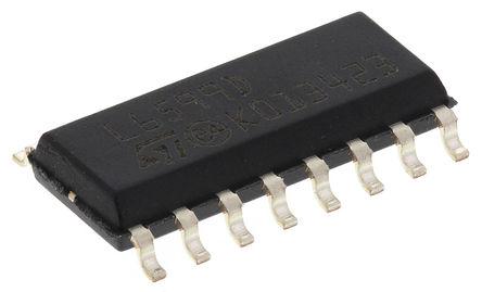 STMicroelectronics - L6599D - STMicroelectronics L6599D 谐振控制器, 16引脚 SOIC封装