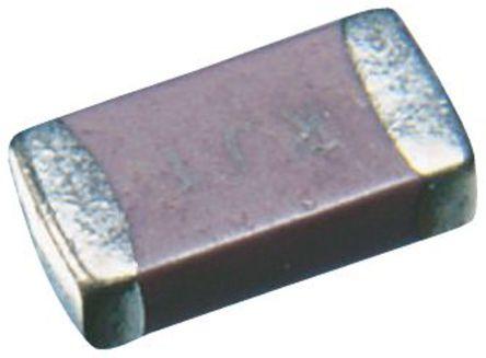 Murata - GRM155B30J105KE18D - Murata 1μF 6.3 V 直流 B电介质 SMD 多层陶瓷电容器 GRM155B30J105KE18D, ±10%容差, 0402封装