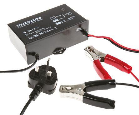 Mascot - 2140000041 - Mascot 开关模式电池充电器 2140000041, 3充电阶段, 90 → 264V ac输入, 12V输出@4A