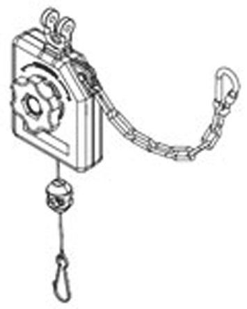 Molex - 130173-0037 - Molex 130173-0037 0.9kg负载 工具平衡器, 3050mm最大行程, 0.5kg重