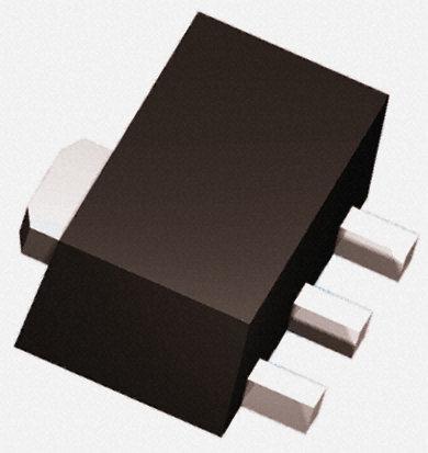 DiodesZetex - ZXTP2008ZTA - DiodesZetex ZXTP2008ZTA , PNP 晶体管, 5.5 A, Vce=30 V, HFE:10, 110 MHz, 3引脚 SOT-89封装