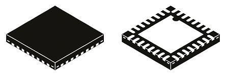 STMicroelectronics - RX95HF-VMD5T - STMicroelectronics RX95HF-VMD5T NFC 读取器, 最大13.56MHz, 2.7 → 5.5 V电源, 32引脚 VFQFPN封装