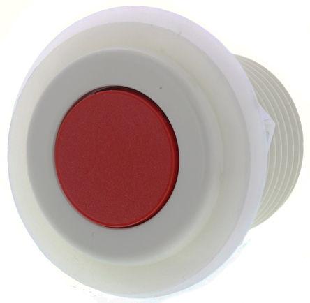 RS Pro - 6438-0011 - RS Pro 6438 系列 红色 空气开关 6438-0011, 50mm直径, 42.5mm长