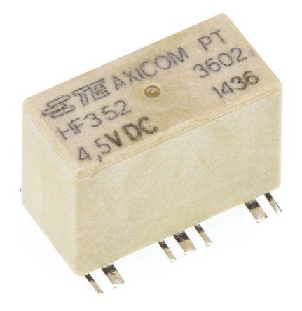 TE Connectivity - HF3-52 - TE Connectivity 单刀双掷 PCB 射频继电器 HF3-52, 3GHz, 4.5V dc